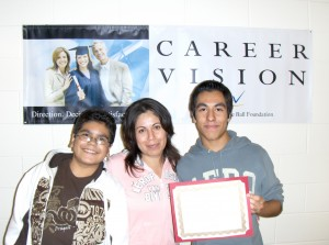 Career Vision Scholarship Winner